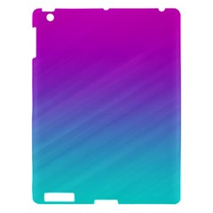 Background Pink Blue Gradient Apple Ipad 3/4 Hardshell Case by BangZart