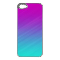 Background Pink Blue Gradient Apple Iphone 5 Case (silver)