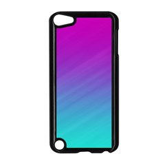 Background Pink Blue Gradient Apple Ipod Touch 5 Case (black)
