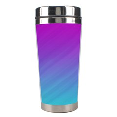 Background Pink Blue Gradient Stainless Steel Travel Tumblers