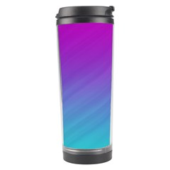 Background Pink Blue Gradient Travel Tumbler