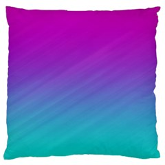 Background Pink Blue Gradient Standard Flano Cushion Case (two Sides)