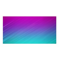 Background Pink Blue Gradient Satin Shawl
