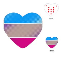 Pattern Template Banner Background Playing Cards (heart)