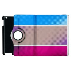 Pattern Template Banner Background Apple Ipad 3/4 Flip 360 Case
