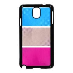 Pattern Template Banner Background Samsung Galaxy Note 3 Neo Hardshell Case (black)