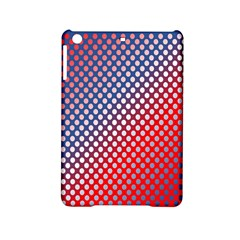 Dots Red White Blue Gradient Ipad Mini 2 Hardshell Cases by BangZart
