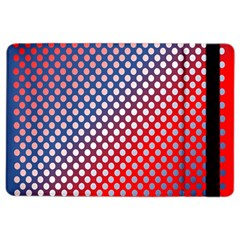Dots Red White Blue Gradient Ipad Air 2 Flip