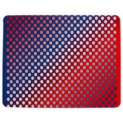 Dots Red White Blue Gradient Jigsaw Puzzle Photo Stand (rectangular)