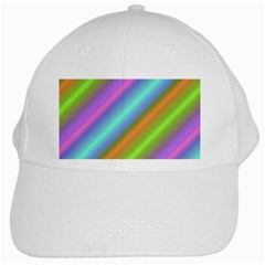 Background Course Abstract Pattern White Cap by BangZart