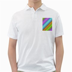Background Course Abstract Pattern Golf Shirts