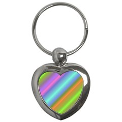 Background Course Abstract Pattern Key Chains (heart)