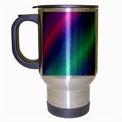Background Course Abstract Pattern Travel Mug (silver Gray)