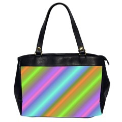 Background Course Abstract Pattern Office Handbags (2 Sides)