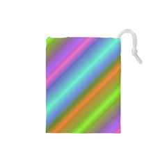 Background Course Abstract Pattern Drawstring Pouches (small)