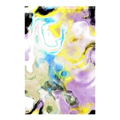Watercolour Watercolor Paint Ink Shower Curtain 48  X 72  (small)  by BangZart