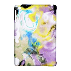 Watercolour Watercolor Paint Ink Apple Ipad Mini Hardshell Case (compatible With Smart Cover)