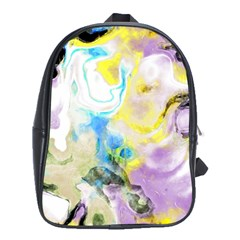 Watercolour Watercolor Paint Ink School Bag (xl)