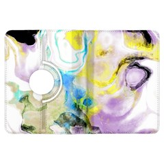 Watercolour Watercolor Paint Ink Kindle Fire Hdx Flip 360 Case by BangZart