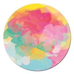 Watercolour Gradient Magnet 5  (round) by BangZart