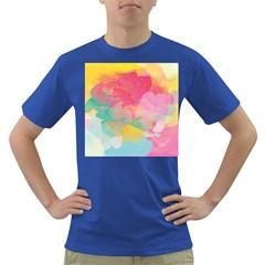Watercolour Gradient Dark T Shirt