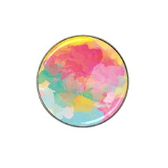 Watercolour Gradient Hat Clip Ball Marker by BangZart
