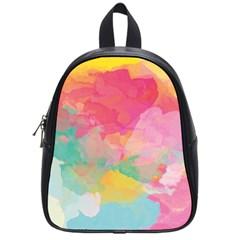 Watercolour Gradient School Bag (small)
