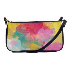 Watercolour Gradient Shoulder Clutch Bags