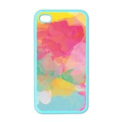 Watercolour Gradient Apple Iphone 4 Case (color)