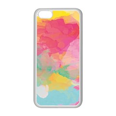 Watercolour Gradient Apple Iphone 5c Seamless Case (white)