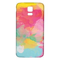 Watercolour Gradient Samsung Galaxy S5 Back Case (white)