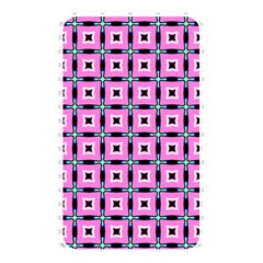 Pattern Pink Squares Square Texture Memory Card Reader