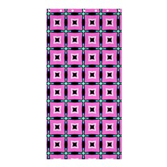 Pattern Pink Squares Square Texture Shower Curtain 36  X 72  (stall)