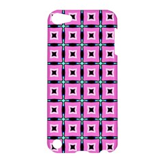 Pattern Pink Squares Square Texture Apple Ipod Touch 5 Hardshell Case