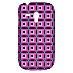 Pattern Pink Squares Square Texture Galaxy S3 Mini