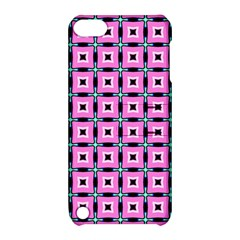 Pattern Pink Squares Square Texture Apple Ipod Touch 5 Hardshell Case With Stand by BangZart