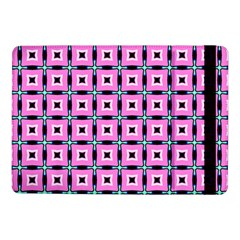 Pattern Pink Squares Square Texture Samsung Galaxy Tab Pro 10 1  Flip Case