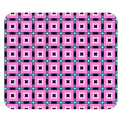 Pattern Pink Squares Square Texture Double Sided Flano Blanket (small)