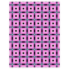 Pattern Pink Squares Square Texture Drawstring Bag (large)