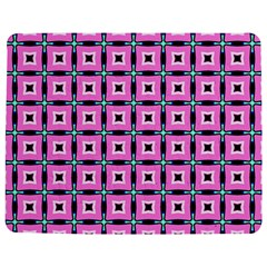 Pattern Pink Squares Square Texture Jigsaw Puzzle Photo Stand (rectangular)