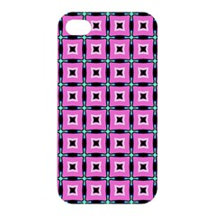 Pattern Pink Squares Square Texture Apple Iphone 4/4s Premium Hardshell Case by BangZart