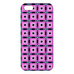 Pattern Pink Squares Square Texture Iphone 5s/ Se Premium Hardshell Case by BangZart