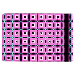 Pattern Pink Squares Square Texture Ipad Air 2 Flip