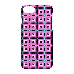 Pattern Pink Squares Square Texture Apple Iphone 7 Hardshell Case
