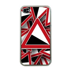 Road Sign Auto Gradient Down Below Apple Iphone 4 Case (clear)