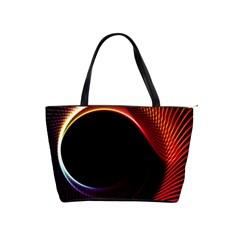 Grid Bent Vibration Ease Bend Shoulder Handbags