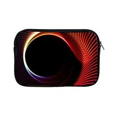 Grid Bent Vibration Ease Bend Apple Ipad Mini Zipper Cases