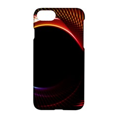 Grid Bent Vibration Ease Bend Apple Iphone 7 Hardshell Case by BangZart