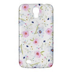 Floral Pattern Background Samsung Galaxy Mega 6 3  I9200 Hardshell Case