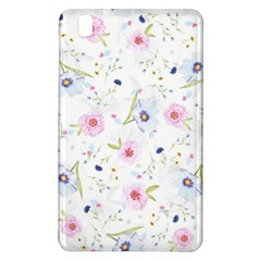 Floral Pattern Background Samsung Galaxy Tab Pro 8 4 Hardshell Case